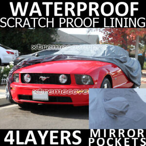 2009 Ford Mustang 4layers Waterproof Car Cover