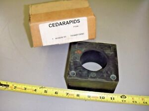 General Electric Ge 631x27 Type Jch 0 Current Transformer Ratio 100 5 Amp
