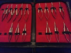 15 O r Grade Assorted Castroviejo Micro Surgery Needle Holder Ophthalmic Set Kit