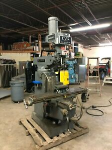 South Bend Lathe Ftv 2f evs Lagun Chipmaster Ii 5hp Variable Speed Vertical Mill