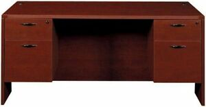 New Amber 66 Executive Office Kneespace Credenza