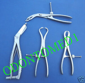 Set Of 4 Assorted Orthopedic Instruments