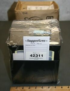 Safco Steel Suggestion Key Box 4232bl Lot