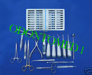 Oral Surgery Set Surgical Dental Instruments Dn 556
