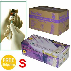1000 cs Disposable Powder free Latex Medical Exam Gloves vinyl Nitrile Free S