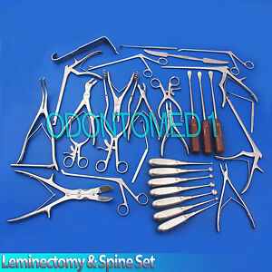 Leminectomy Spine Set Surgical Instruments ds 1265