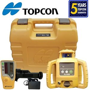 Topcon Rl h5b Rechargeable Rotating Laser Level