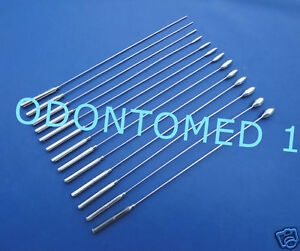 Bakes Rosebud Urethral Sounds Set Of 13 Pcs