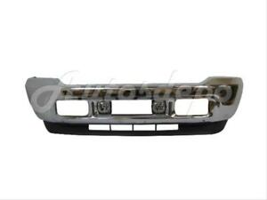 For 2001 2004 Ford Super Duty F250 F350 Front Bumper Chr Valance Fog Light 4p