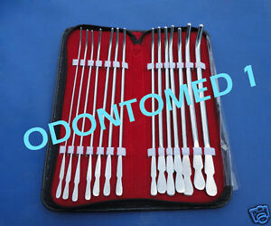 Van Buren Sound 14 Pcs Set Ob gyn Surgical Instruments