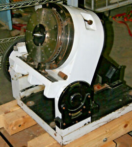 Aa Gage Ultradex 32 Tilting Rotary Table With Tailstock