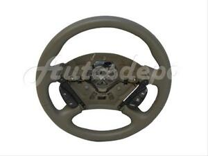 Genuine New 2000 2004 Ford Focus Steering Wheel Leather Tan With Cruise Control