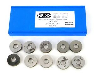 Quick Knurling Tools 272 705 21 5x0 5 30 Degree Rad Knurling Wheels Qty 10 E11