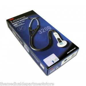 3m Littmann 3200 Electronic Stethoscope W Bluetooth 3 Color Choice New