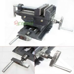 5 Cross Drill Press Vise X y Clamp Machine Slide Metal Milling 2 Way Hd