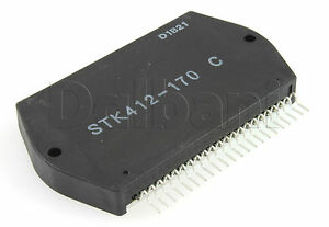 Stk412 170c Original New Sanyo Power Audio Amplifier Ic