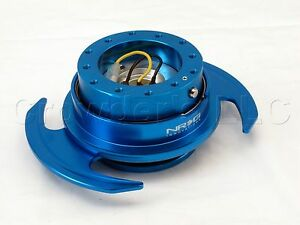 Nrg Quick Release Steering Wheel Hub Kit New Blue Gen 3