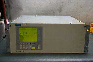 Siemens Ultramat 6e Nh3 Gas Analyzer 7mb2121 1qv41 0aa1