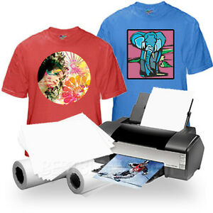 Inkjet Iron on Heat Transfer Paper For Darks 50 Neenah Jet opaque Jo 8