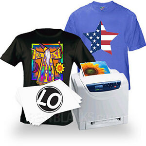 Laser Iron on Heat Transfer Paper For Darks 50 Neenah Laser 1 Opaque Lo 8
