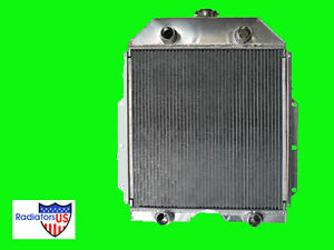 1940 1941 1942 1943 1944 1945 V8 Ford Flatbed New All Aluminum 3 Core Radiator