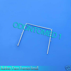 12 Rubber Dam Frames Small Endodontic Root Dental Instruments