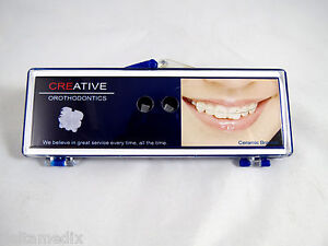 Orthodontic Roth Ceramic Brackets Dental Orthodontic Supplies 0 022