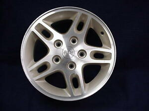 Jeep Grand Cherokee 99 00 16 5 Split Spoke Machined Gold Tinted Alloy Wheel 1
