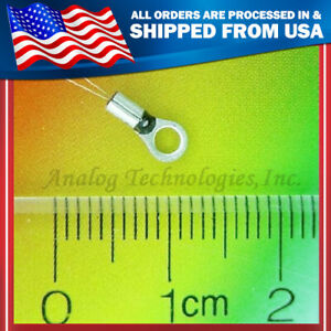 New 10 Each 100k Ohm High Stability Ntc Thermistor 3 6mm Ath100kl2a Usa Seller