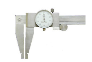 0 24 Stainless Steel Dial Caliper Brand New