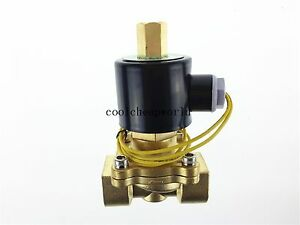 Electric Solenoid Valve Water Air N o 12v Dc 3 4 Normally Open Type
