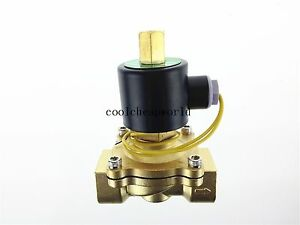 Electric Solenoid Valve Water Air N o 24v Dc 1 Normally Open Type