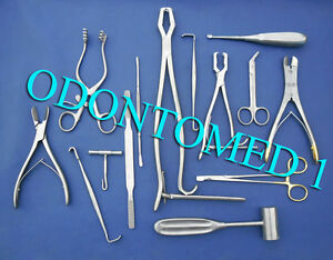 Veterinary Orthopedic Kit Surgical Instruments
