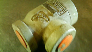 1 1 4 C2825 Sperry Vickers Free Flow Pressure Back Check Hydraulic Valve