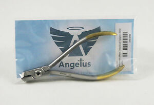 Dental Pliers Orthodontic Universal Distal End Cutter Tungsten Gold Angelus