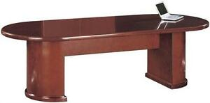 New Ruby 14 Racetrack Office Conference Table For Boardroom Meeting Room