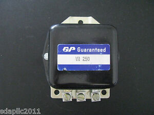 Guaranteed Parts Vr250 Voltage Regulator 6v Pos Grd Ford Tractor 1948 50