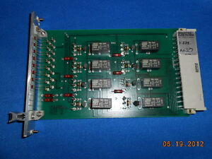 Atr Industrie Elektronik Re2 Gold Contact 8 Relay Card Board