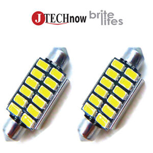 Jtech 2x 42mm 1 72 12 5630 Smd Canbus White Led Bulb 211 212 211 2 212 2