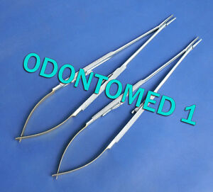 2 T c Castroviejo Surgical Needle Holder 8 Straight W Tungsten Carbide