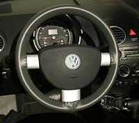 Vw Leather Steering Wheel Cover Wheelskins Custom Fit You Pick The Color
