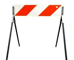 Portable A frame Metal Traffic Barricade 36 Width X 42 Full Height 14627000