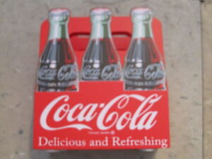 Coca-Cola Wood 6-Pack Napkin Holder  - New