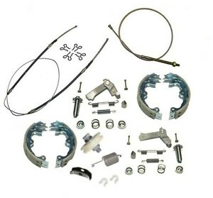 1967 82 Corvette Emergency Brake Deluxe Kit