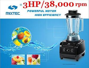 Mixtec Heavy Duty Blender With Tamper 3hp Motor Up To Speed 38 000 Rpm 64oz