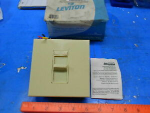 Leviton 86679 71 Ivory Dimmer Slide Switch Lighting Industrial Manufacturing