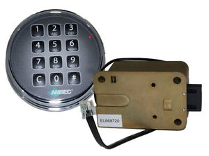 Amsec Esl10xl Chrome Digital Safe Lock Replace S g 6120 Lagard Basic Ii