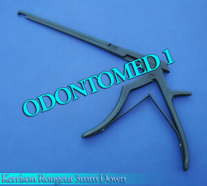3mm Kerrison Rongeurs 8 Down With Black Coating Orthopedic Instruments
