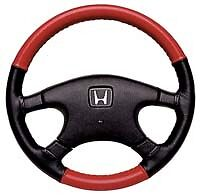 Honda 2 Tone Leather Steering Wheel Cover Wheelskins Custom Fit You Pick Color S