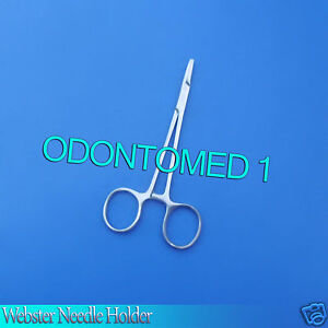12 Webster Needle Holder Smooth 5 5 Surgical Veterinary Instruments